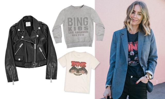 Basplagg med en edge! Nu släpper Anine Bing sin efterlängtade barnkollektion