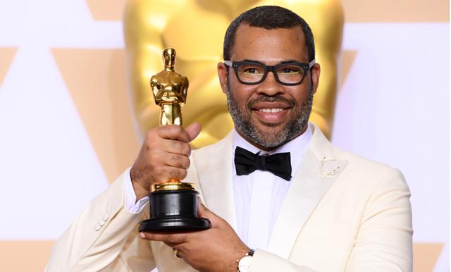 Jordan Peel skapar historia på Oscars – första svarta som vinner pris för bästa manus