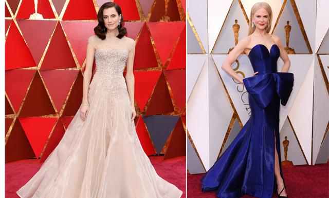 Oscarsgalan 2018 – kolla in 30 av de vackraste klänningarna från röda mattan