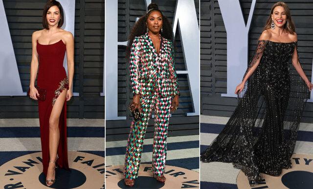 Våra favoriter! De 25 bäst klädda på Oscarsgalans Vanity Fair-efterfest