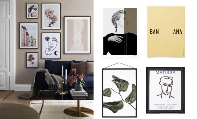 Så skapar du en perfekt tavelvägg – trendköp i butik just nu