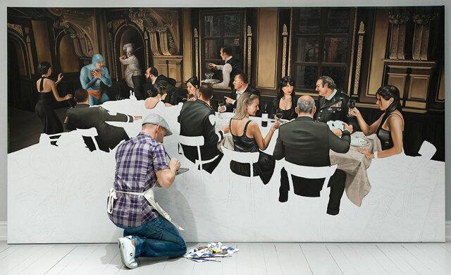 """Konstnären Andreas Englund: """"Jag gillar att utmana stereotyper i min konst"""""""