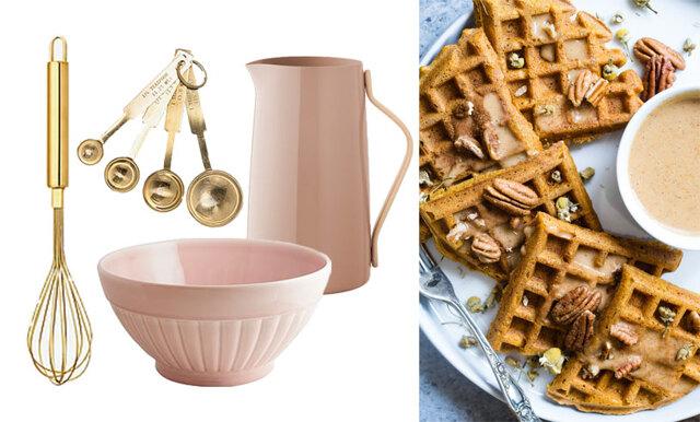 Våffeldagen närmar sig – här är 19 köksredskap vi vill ha i våra kök!
