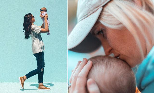 Experten: Därför ska din bebis spendera mycket tid i din famn