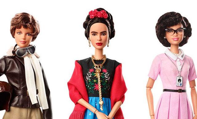 Barbie hyllar power-ikoner – gör barbiedockor av kvinnliga förebilder