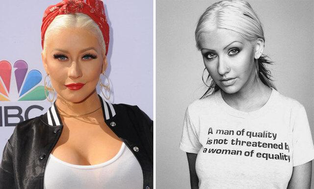 Så här har vi inte sett Christina Aguilera tidigare – naturlig och vackrare än någonsin!