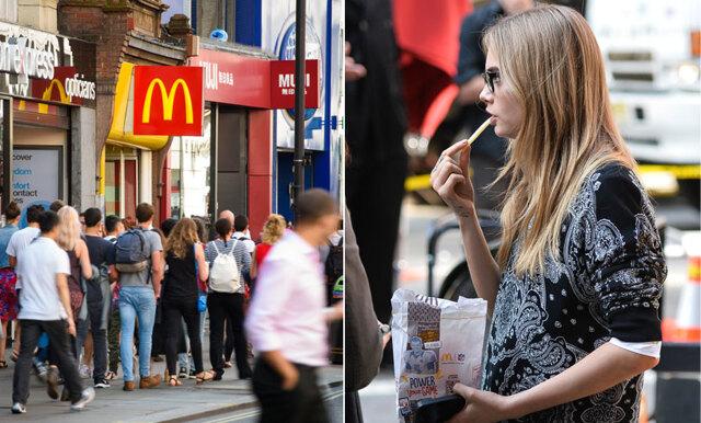 Kolla in när McDonald's vänder loggan för att hylla världens kvinnor