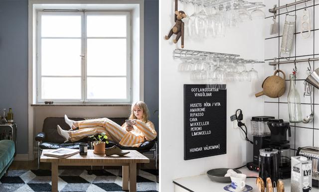 Kolla in och inspireras av Fanny Ekstrands stilsäkra hem
