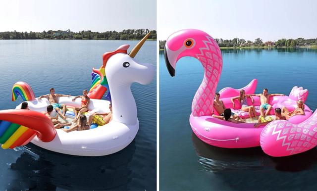 Fixa sommarens fester med dessauppblåsbara (och gigantiska) djur som rymmer hela kompisgänget
