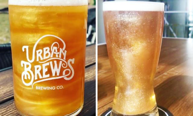 Öl blev precis så mycket finare att se på – nu finns det glittrande öl!