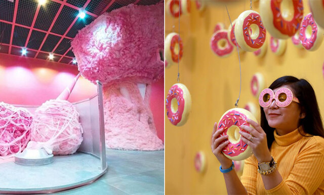 Nu blir drömmen sann – ät godis från väggar och tak på det nya godismuseet!