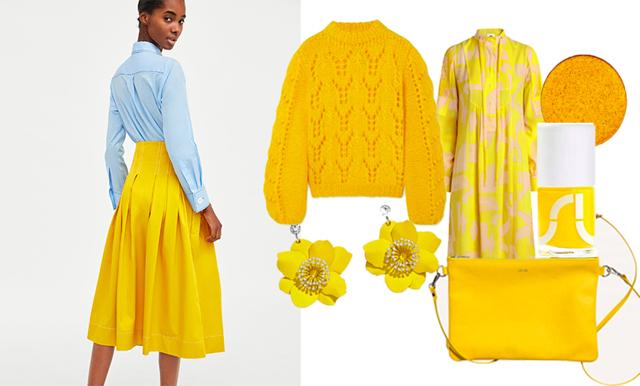 Hög tid för gult – matcha påsken och klä dig säsongens finaste färg!