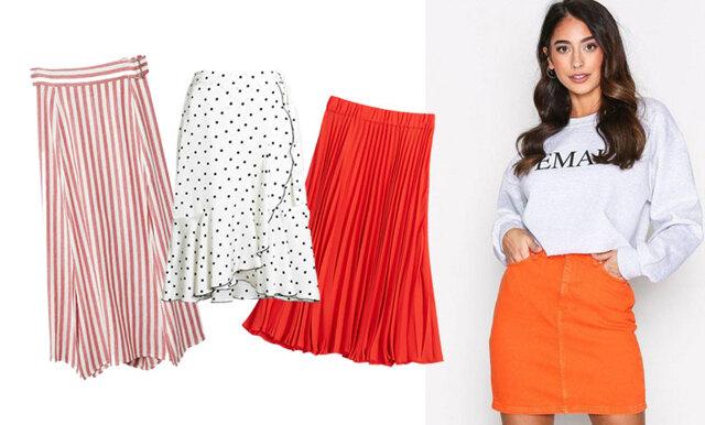 Välkomna varmare dagar med vårens snyggaste trend – 23 stilsäkra kjolar att klicka hem