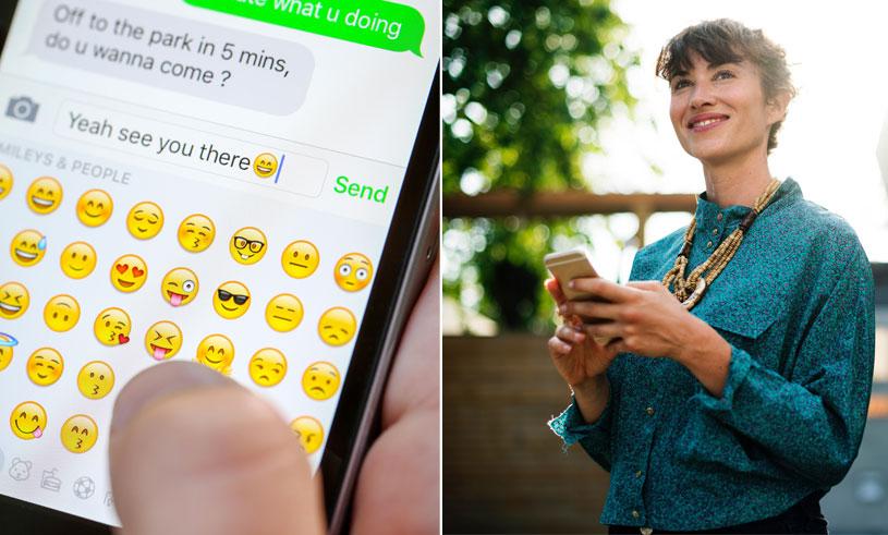 emojis-texting