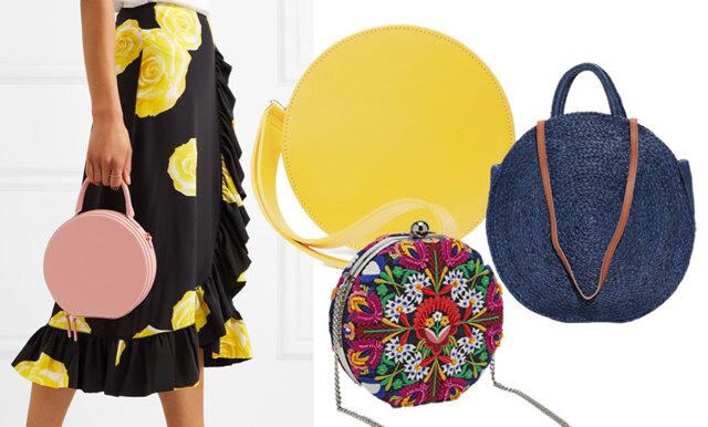 Årets trendväska sticker ut – satsa på den runda väskan!