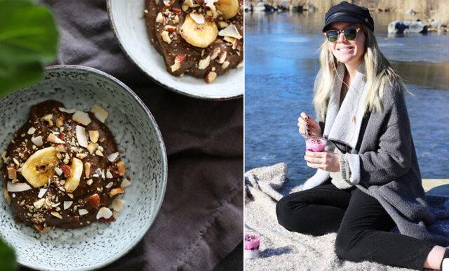 Vegansk chokladmousse på bara 5 minuter - här kan du ta del av Cassandra Lundgrens smarriga recept!