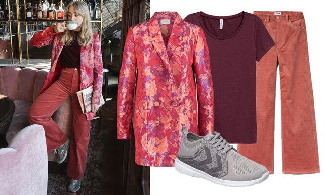 Romantiskt och klassikt - sno stilen av Metro Modes trendiga bloggare Fanny Ekstrand!