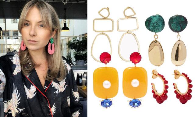 Vårens hetaste accessoar - satsa på stora och färgglada örhängen!