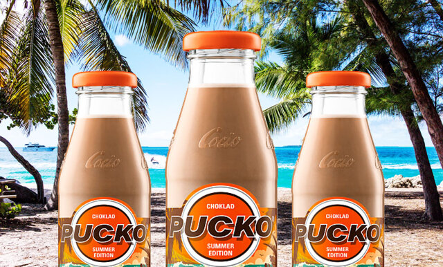 Har du testat den nya Pucko-smaken? Sommar på flaska!