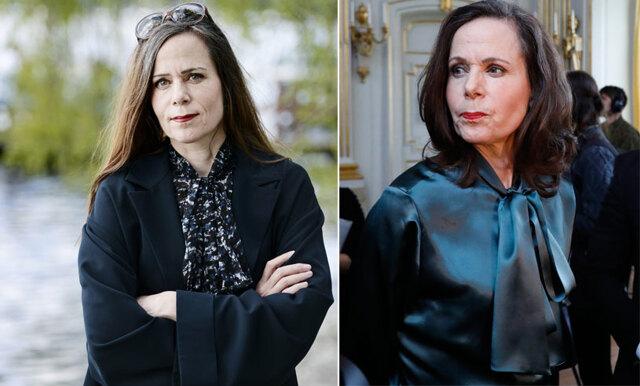 Nu knyter hela Sverige sina blusar för Sara Danius!