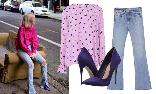 Färgstarkt och lekfullt – sno stilen av trendsäkra Tyra-Stina!