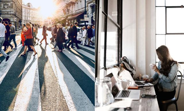 Här stressar vi mest i Sverige - de mindre (och otippade) länen tar täten