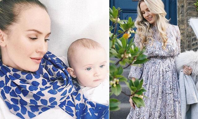 Tess Montgomery om första tiden som mamma: