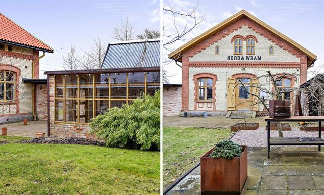 Stationshuset i Skåne är husdrömmen som får våra hjärtan att slå ett extra slag