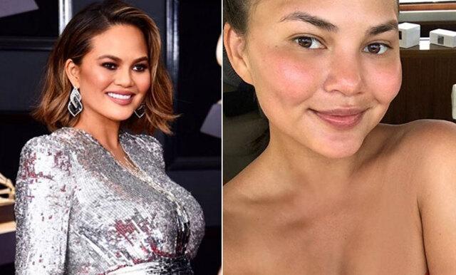 Så ser kändisarna ut utan smink – 11 före-och-efter-bilder!