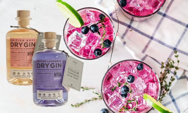 Nu kan gin-älskaren också njuta av Instagramvänliga drinkar – här är drycken som byter färg!