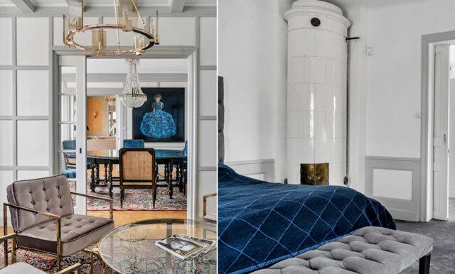 Magiska detaljer och lyxiga material – villan i Danderyd är helt enastående!