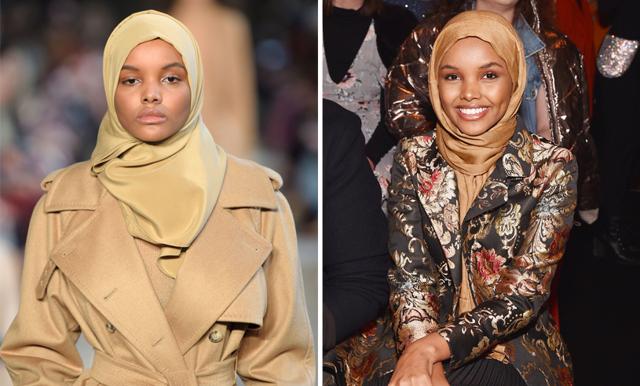 Vogue har för första gången en modell med hijab på omslaget