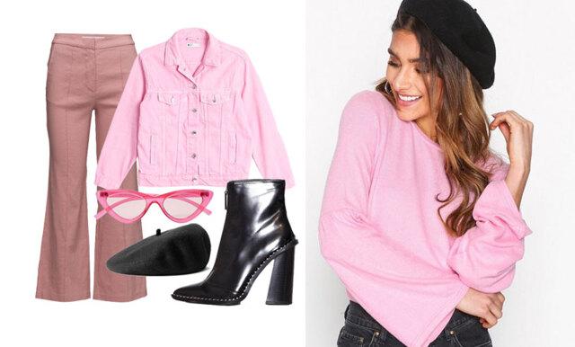 Bär rosa på ett stilsäkert och coolt sätt – inspireras av 4 outfits