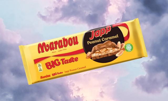 Marabou lanserade precis årets drömmigaste choklad – jordnöt och karamell!