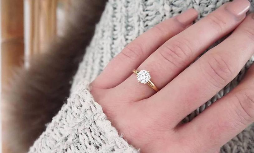 förlovningsring vilken hand