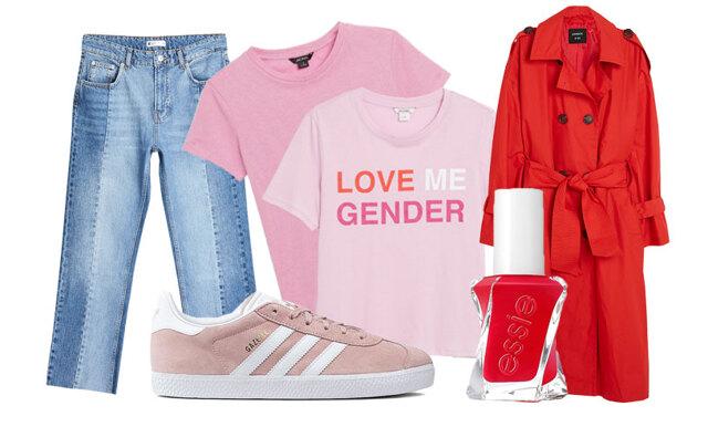 Så klär du dig i den snyggaste färgkombinationen – vi får inte nog av rosa och rött!