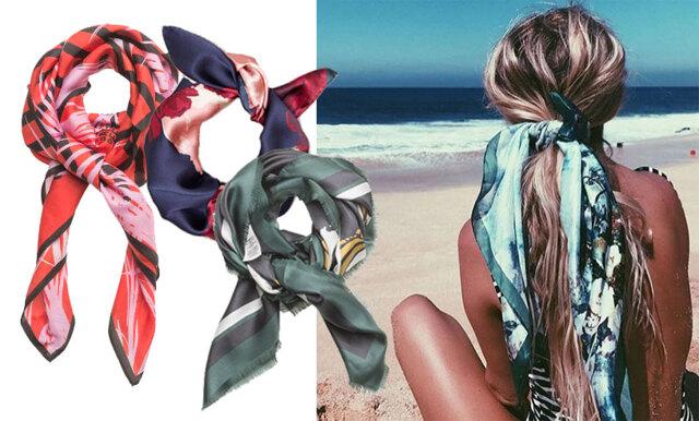 Bär scarfen i håret – så fixar du 6 trendiga frisyrer på ett kick!