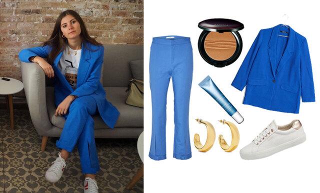 Sno stilen av Paulina Forsberg – med fokus på smycken och blåa nyanser!