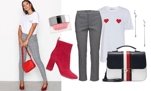 Så stylar du den gråa rutiga byxan – inspireras av 3 trendiga jobboutfits!
