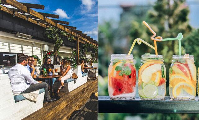 Ställena vi vill hänga på i vår och sommar – här är Göteborgs 8 bästa uteserveringar!