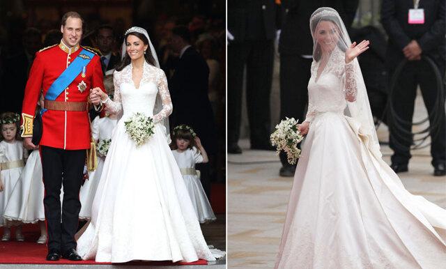 Nu kan du kopiera Kate Middletons bröllopsklänning –här hittar du den snarlika modellen!