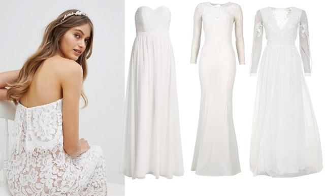 Vägen till vigseln: 14 drömklänningar som fixar bröllopet – under 4000 kronor