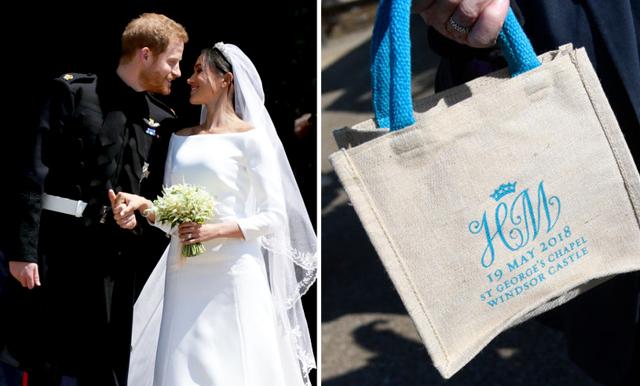 Någon sålde precis en goodiebag från prinsbröllop för sjukt(!!!) mycket pengar
