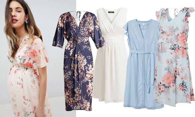 16 romantiska gravidklänningar för sommarens alla tillfällen!