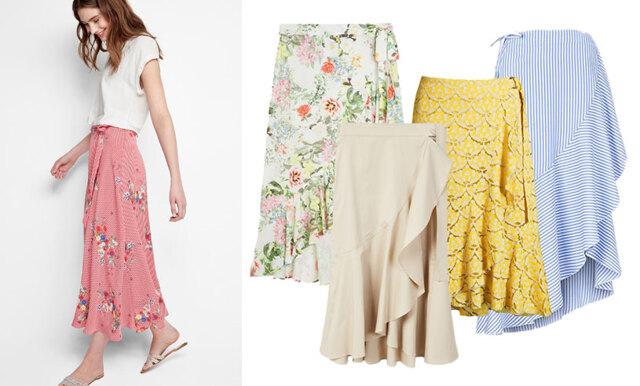 Omlottkjolen är sommarens hetaste plagg - 18 snygga köp i butik just nu!