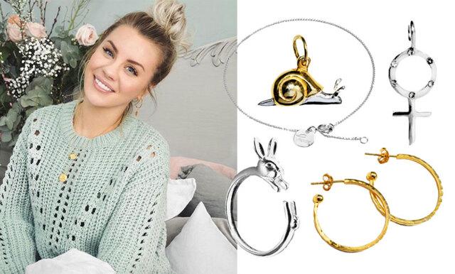 Therese Lindgren lanserar smyckeskollektion för Glitter - här är våra 7 absoluta favoriter!