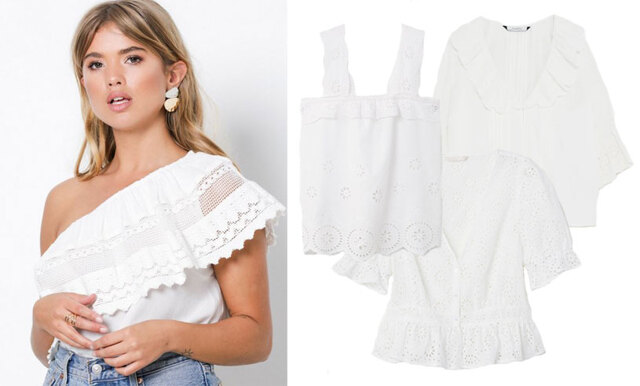 Sommarens mest romantiska plagg - 15 vita blusar i butik just nu!
