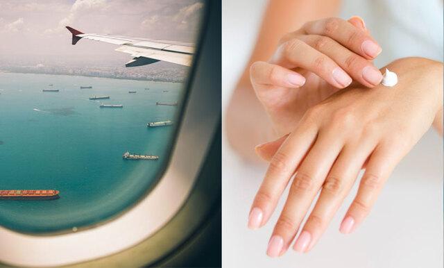 6 steg till återfuktad hud under och efter flygningen – experten tipsar!