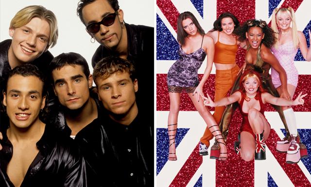 Backstreet Boys klädde ut sig till Spice Girls och det är det bästa vi har sett på länge!