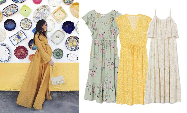 14 romantiska gravidklänningar för sommarens alla tillfällen!